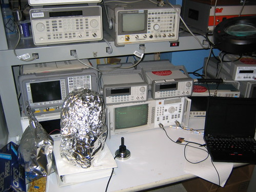 $250,000 Microwave Network Analyser Oscilloscope and other high cost Electrical Engineering equipment in the MIT Media Laboratory