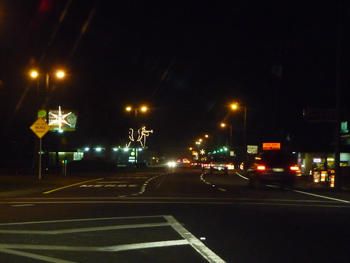 Milton at night