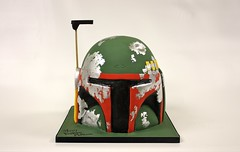 Boba Fett Heltmet (Berliosca Cake Boutique) Tags: birthday wedding party cakes cake vancouver special novelty custom occasion specialty berliosca