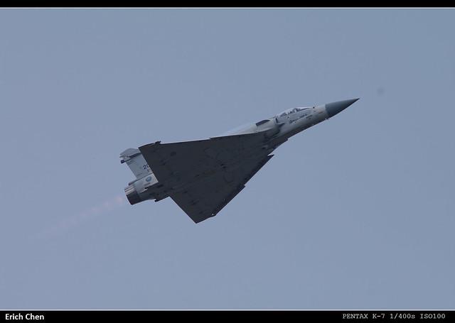 2010新竹空軍基地開放--幻象2000 part1