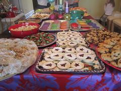 IMG_4777 (drjeeeol) Tags: party baby cookies triplet 2010 cookieexchange 26monthsold