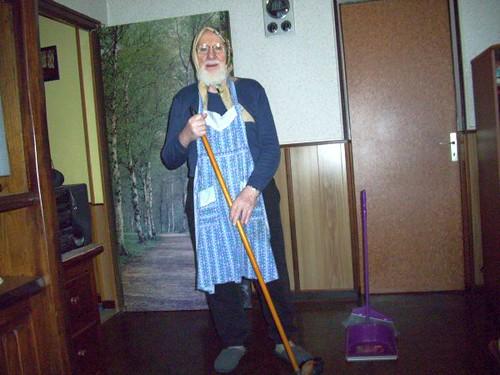 Aide ménagère...