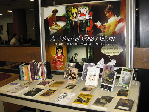 A Book of One's Own Display by college.library, on Flickr