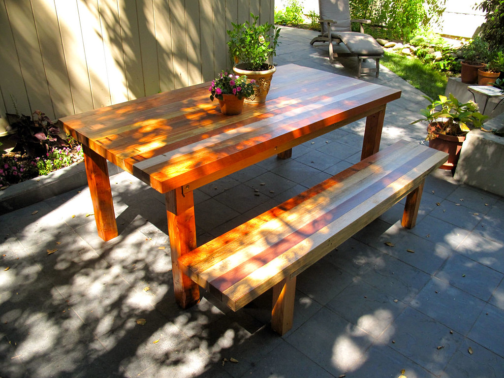 Java Dining Table + Bench