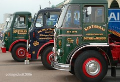 Times Gone By...Classic English Wagons... (colinfpickett) Tags: classic memories leyland classictrucks foden aec vintagetrucks ladcab brightonrally artci