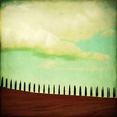 tuscany (fotobananas) Tags: sky texture painting landscape sunday hills explore tuscany fujifilm toscana frontpage toskana sliders hss explored f31fd skeletalmess fotobananas truthandillusion