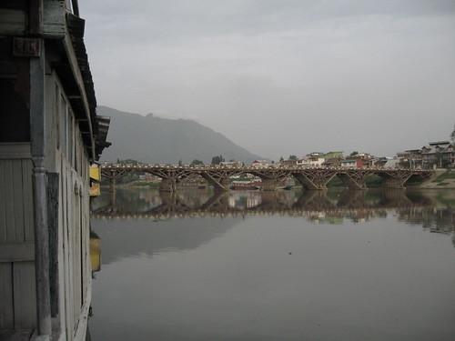 El Puente Cero de Srinagar, en la Cachemira India.