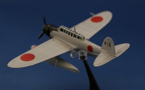 """F-toys 1/144 - Aichi E13A """"Jake"""" - Complete - 3"""