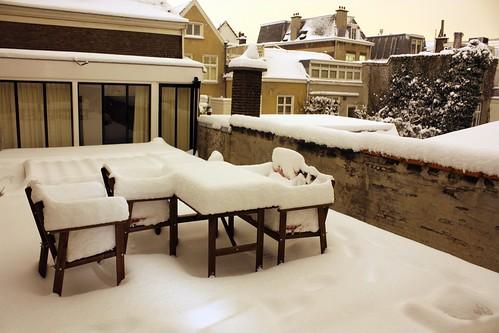Neve em Haia