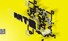 3d extruded qr code art (qrarts) Tags: code qr qrcode qrarts