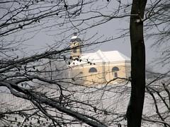 winter time (jasna18) Tags: trees winter cold church forest slovenia zima mraz cerkev kapela gozd drevje tripleniceshot