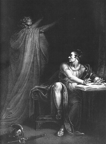 Brutus and the Ghost of Caesar (1802)