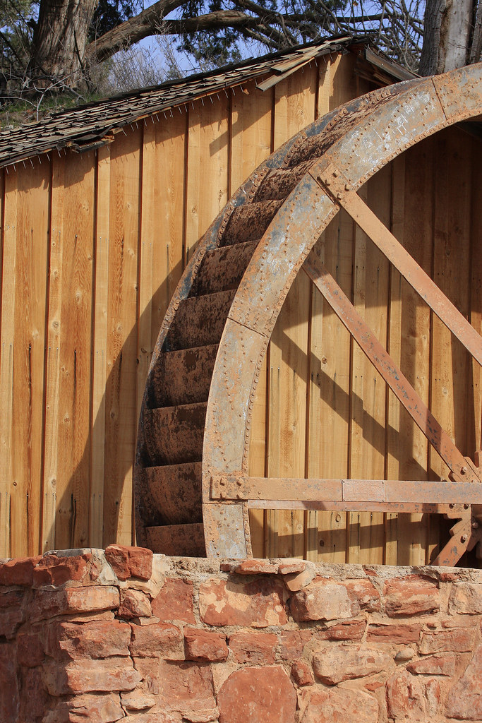 Old Water Wheel
