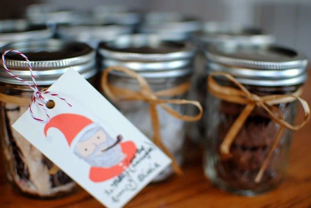 treats in mason jars