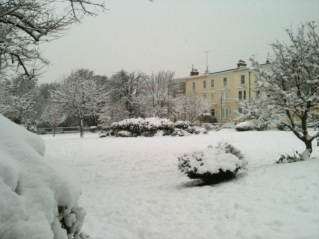 Victorian Snowscape