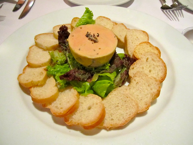 Homemade Duck Foie Gras Terrine
