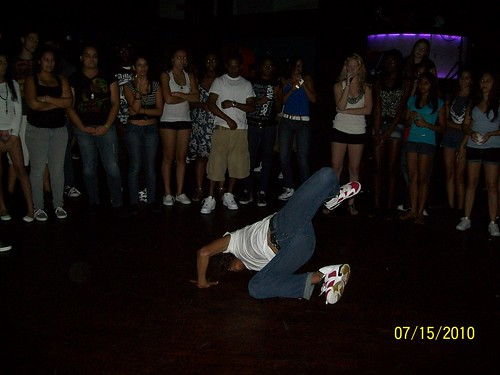 Teen Night at Club Destiny, Orlando, FL -teens Break-Dancing 7-