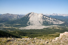 Frank Slide from Piistaistakis - (c) David Thomas