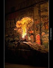 #358/365 Maybe I've drunk too much for X-Mas... (iPh4n70M) Tags: paris france car de french fire photography 50mm graffiti photo nikon photographer photographie grafitti walk tag graf voiture photograph tc photowalk 365 split nikkor bp breathe hdr ballade feu breather eater balade twingo photographe splitter parisienne frigos parisien cracheur 1xp 1raw d700 tcphotography baladesparisiennes ph4n70m iph4n70m tcphotographie