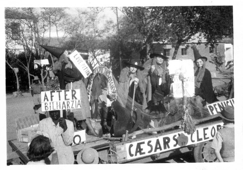 Que Que Hospital Float for the Jubilee Parade 1950