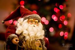 One Last Wish from Santa... (SonOfJordan) Tags: santa christmas xmas red tree canon eos bokeh amman jordan xsi 450d sonofjordan wwwshadisamawicom