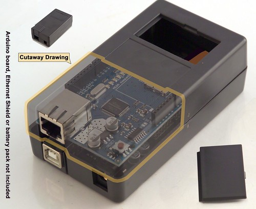 Arduino with WiFi or Xbee / Box & power consumption