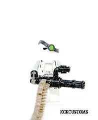 Imperial Spec Ops (~Entropy~) Tags: starwars lego imperial minigun brickarms ammochain