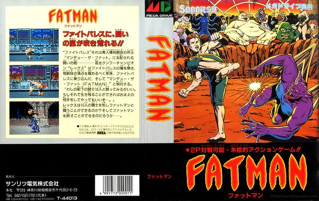 Sega Mega Drive -FATMAN