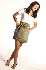 Saia clochard (Zizi Anil) Tags: moda fuxico patchwork roupa saia bolero colete vesturio zizianil