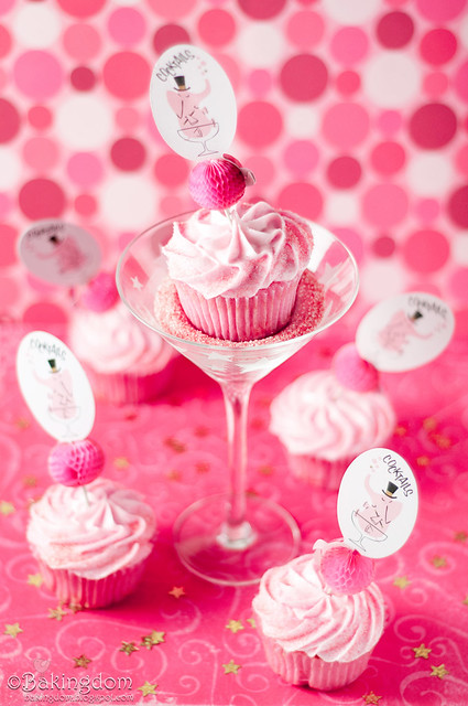 Delicious Cosmopolitan Cupcakes