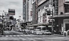 the city (puntxote) Tags: street cars car japan tokyo calle nikon asia edificio coche nippon coches tokio japn