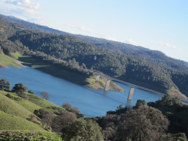 Highway 49 (Melones Lake)