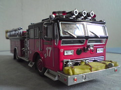 ENGINE 17 (imranbecks) Tags: 3 chicago scale truck movie fire code model die engine cast 164 17 1991 universal ladder studios department engine17 collectibles 46 fd backdraft cfd diecast ronhoward truck46