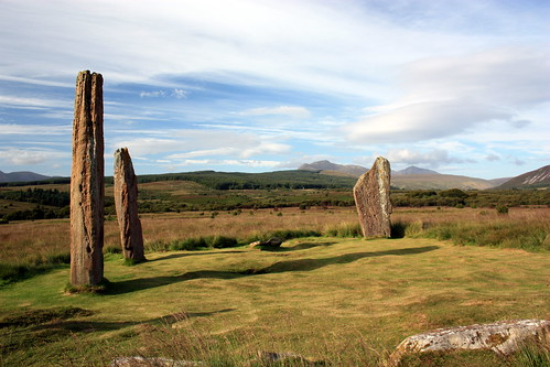 Three Stones on Machrie by i-c-photos