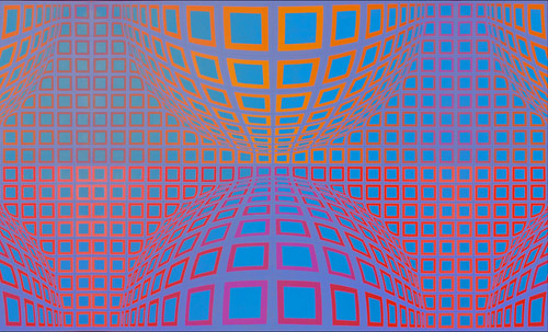 "Victor Vasarely • <a style=""font-size:0.8em;"" href=""http://www.flickr.com/photos/30735181@N00/5324127062/"" target=""_blank"">View on Flickr</a>"