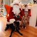 Stella and Evie with Santa!