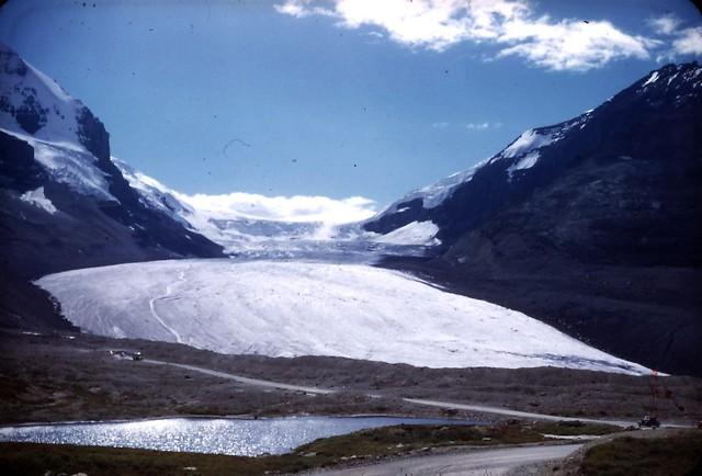 Columbia ice field - Athabasca Glacier 1948