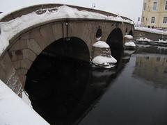 SPB Fontanka River Bridge ice (robert_m_brown_jr) Tags: bridge winter snow ice stpetersburg russia fontankariver fontankariverbridge