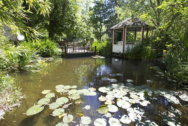 preisgekrönter Garten im mediterranen Stil