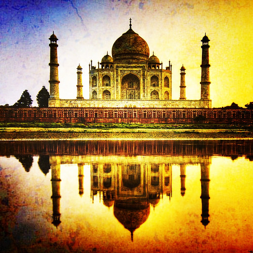 "Taj Mahal Remix This is a fairly hard remix of one of my older and favorite photos...  did it with 100 Cameras in 1 at <a href=""http://www.stuckincustoms.com/best-iphone-camera/"" rel=""nofollow"">www.stuckincustoms.com/best-iphone-camera/</a>"