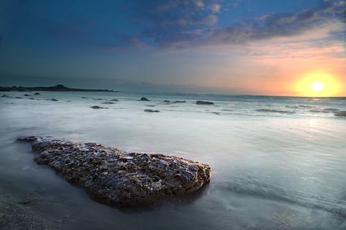 フリー写真素材, 自然・風景, 海, 海岸, 夕日・夕焼け・日没, アメリカ合衆国,