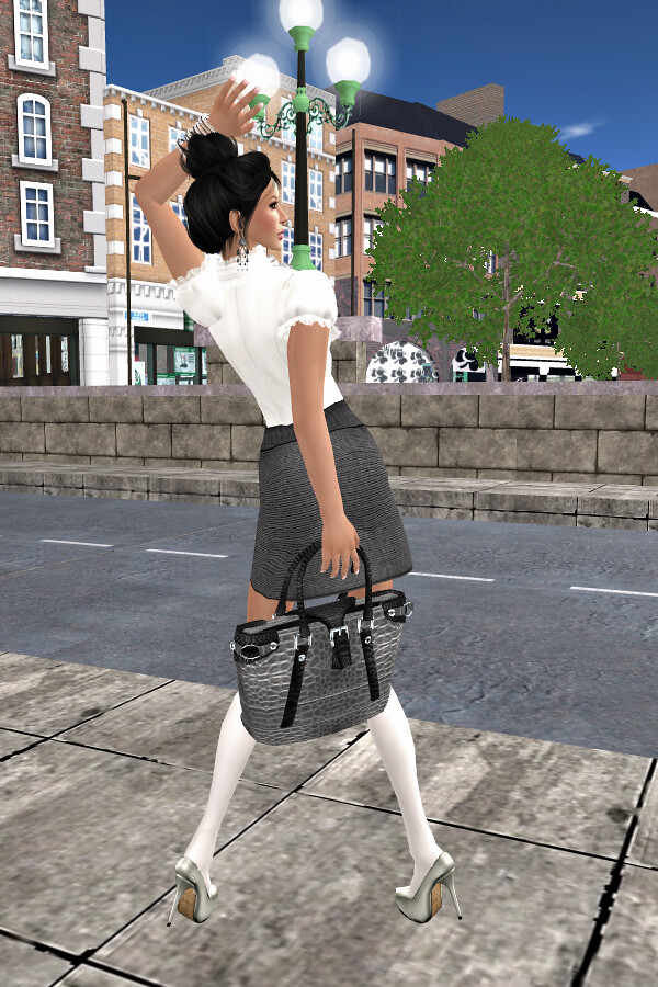 Sunday Look inspired by the new *BD* Mila MiniSkirt 2