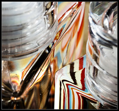 A sort of equality, (more equality in comments) HMM! Explored Frontpage (Ianmoran1970) Tags: abstract macro glass lines colours explore refraction frontpage hmm explored ian macromonday moran ianmoran1970