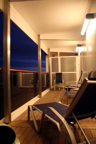 Carnival Spirit - Cabin 7258 - Balcony, Leaving Mazatlan
