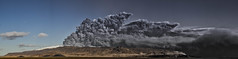 """the icelandic volcano"" panorama (var Sigursson) Tags: volcano iceland nikon glacier d200 sland 2010 icelandic eyjafjallajkull var eyjafjll sigursson"