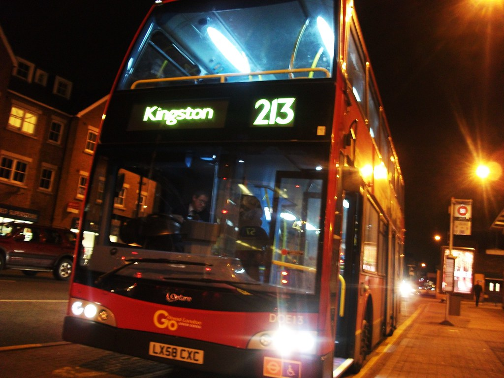 London General DOE13 on route 213 . Kingston 11/01/11