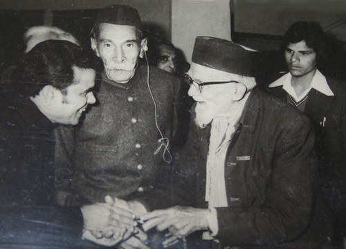Raja Mahendar Pratap Singh with BP Mprya