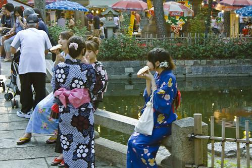 Matsuri in Osaka