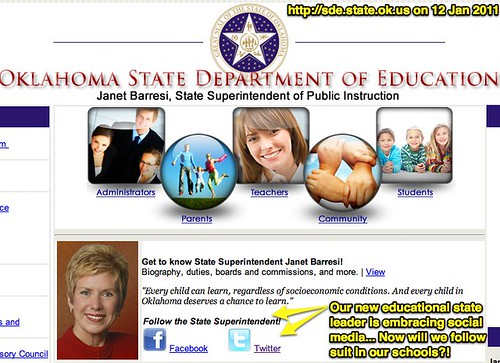 New Website: Oklahoma State Department of Education