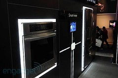 LG Thinq automated appliances in action